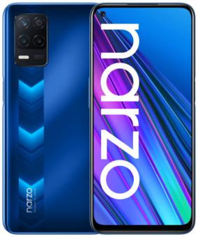 Смартфон realme NARZO 30 4G 6/128GB, синий