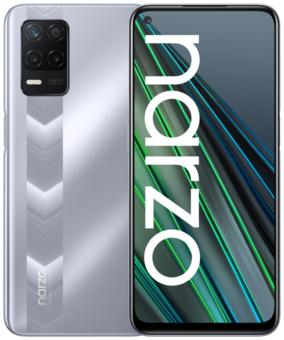 Смартфон realme NARZO 30 5G 4/128GB, серебряный