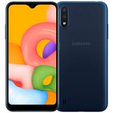 Смартфон Samsung Galaxy M01 SM-M015 синий, SM-M015FZBDSER