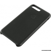 Чехол-накладка Apple iPhone 8 Plus Leather(кожаный) Case Black