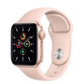 Часы Apple Watch SE GPS 40мм Aluminum Case with Sport Band, золотистый/розовый песок