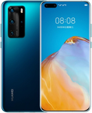 Смартфон Huawei P40 Pro 8/256Gb Насыщенный Синий (Deep Sea Blue)