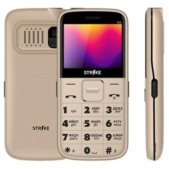 Телефон Strike S20, золотой