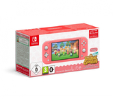 Игровая приставка Nintendo Switch Lite (кораллово-розовый) + код загрузки Animal Crossing: New Horizons + NSO 3 мес