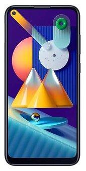 Смартфон Samsung Galaxy M11 3/32GB Black (Черный)