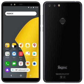 Смартфон Яндекс Телефон 64ГБ Черный
