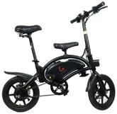 Электровелосипед KUGOO V1, черный