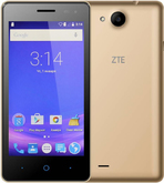 Смартфон ZTE Blade GF3 Gold  RU