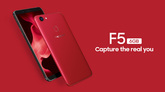 Смартфон OPPO F5 6/64GB Red (Capture the real You)