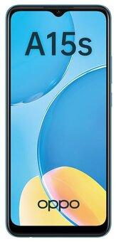 Смартфон OPPO A15s 4/64Gb, голубой