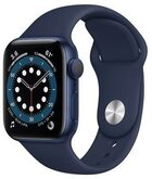 Часы Apple Watch Series 6 GPS 40мм Aluminum Case with Sport Band, синий/темный ультрамарин