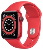 Часы Apple Watch Series 6 GPS 40мм Aluminum Case with Sport Band, (PRODUCT)RED